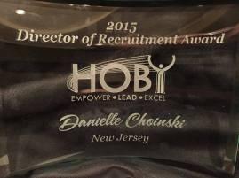 TI Director of Recruitment Award